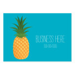 Stylish Trendy Tropical Pineapple Graphic Fruit Large Business Card