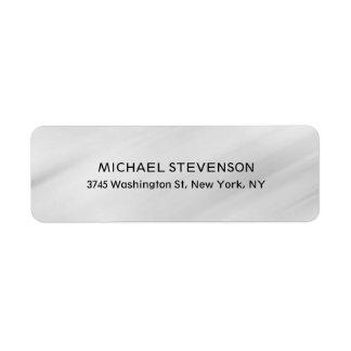 Stylish Trendy Unique Special Personal Gray Label