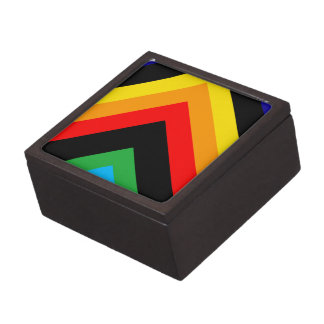 Stylish Triangle Premium Keepsake Box
