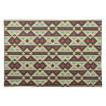 Stylish Tribal Fabric. Native American, Aztec Placemats