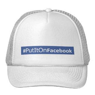 Stylish Trucker Cap For Facebook-Junkies Trucker Hat