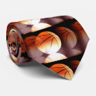 Stylish Unique Modern Basketball Tie