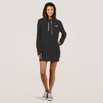 Stylish Unique Pattern  Women's Hoodie Dress