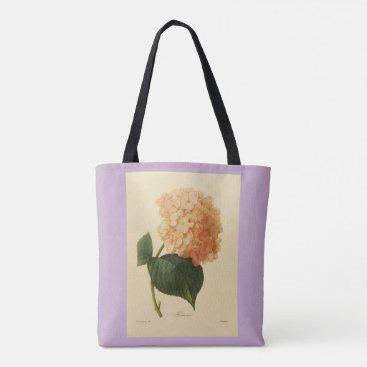 Aztec Themed Stylish-Vintage-Botanical-Art_Peach-Lavender Tote Bag