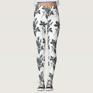 Beach Themed STYLISH-WEAR-TOILE-ROSES-VINTAGE---LEGGING'S_XS-XL LEGGINGS