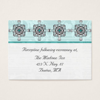 Stylish Wedding enclosure cards