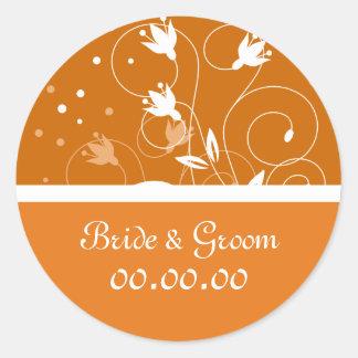 Stylish Wedding Sticker