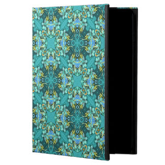 Stylish whimsical lux floral watercolor pattern cover for iPad air
