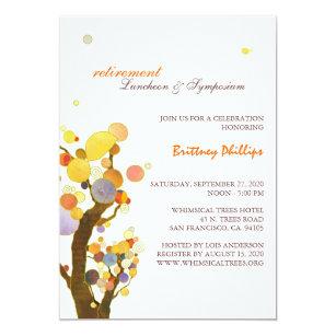 retirement luncheon invitations zazzle