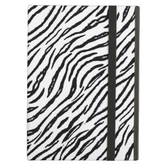 Stylish White Tiger Stripes Modern Animal Print Cover For iPad Air