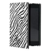 Stylish White Tiger Stripes Modern Animal Print Cover For iPad Mini