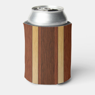 Stylish wood grain effect can cooler