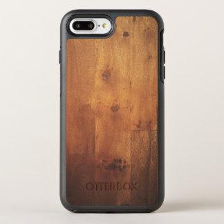 Stylish Wood Grain Wooden Nature Look OtterBox Symmetry iPhone 7 Plus Case