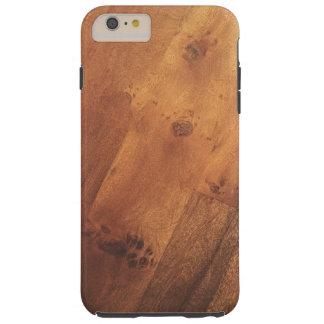 Stylish Wood Grain Woodgrain Wood Look Tough iPhone 6 Plus Case