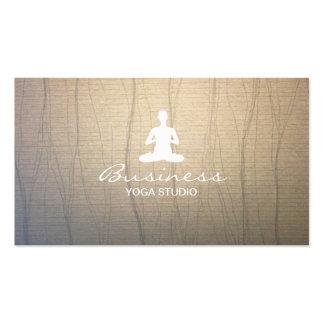 Stylish Yoga & Meditation Business Cards