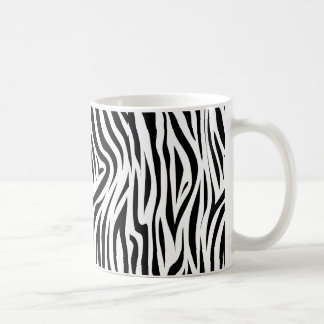 Stylish Zebra Print Animal Skin Mug