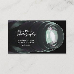 Zoom lens business cards templates zazzle stylish zoom lens photographer business cards colourmoves
