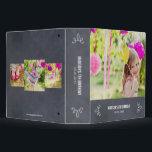 "Stylishly Chalked All Purpose Photo Album 3 Ring Binder<br><div class=""desc"">Design &#169; berryberrysweet.com</div>"