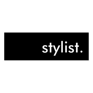 stylist. Double-Sided mini business cards (Pack of 20)