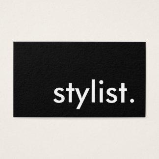 stylist. loyalty punch card