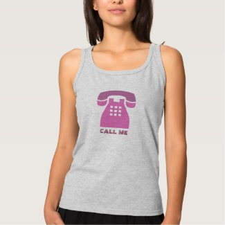 Stylistic Vintage Pink Phone Call Me all Colors