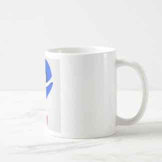 Stylized 3d question mark classic white coffee mug