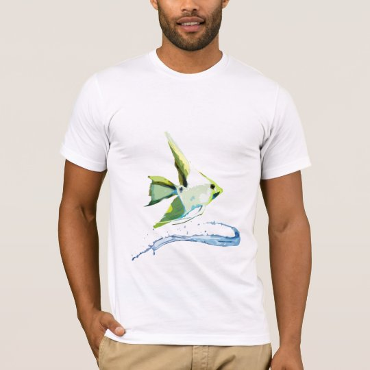 Stylized Angelfish T-Shirt