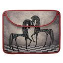 Stylized Arabian Horses  Rickshaw Flap Sl rickshawflapsleeve