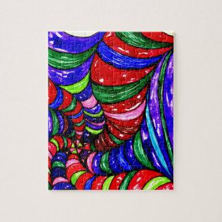 Stylized Art Background Jigsaw Puzzle