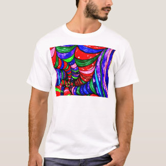 Stylized Art Background T-Shirt