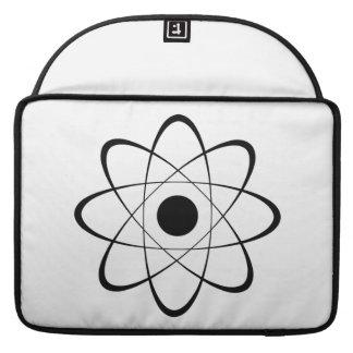 Stylized Atom Symbol Sleeves For MacBook Pro