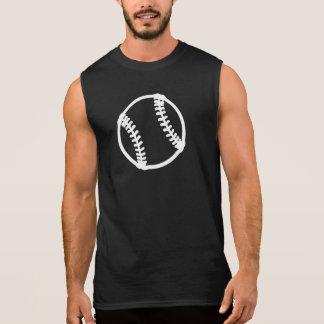 Stylized Baseball or Softball Sleeveless Shirt