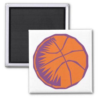 stylized basketball fridge magnets