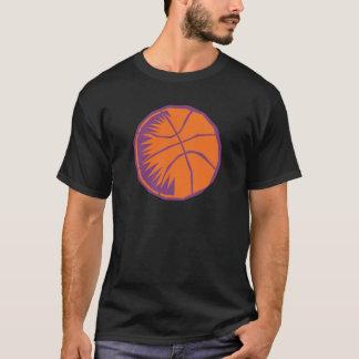 stylized basketball T-Shirt