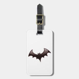 Stylized Bat Luggage Tag