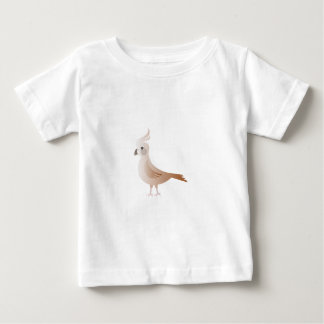 Stylized Brown Bird Baby T-Shirt