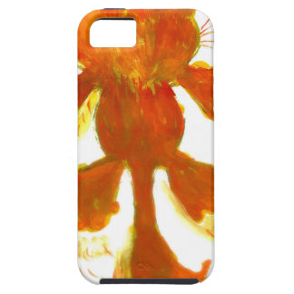 Stylized Cat Silhouette iPhone SE/5/5s Case