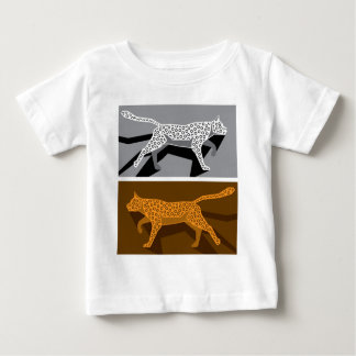 Stylized cat vector baby T-Shirt