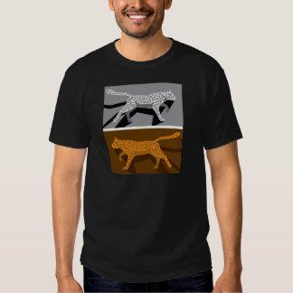 Stylized cat vector shirt