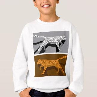 Stylized cat vector sweatshirt