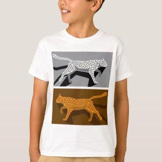 Stylized cat vector T-Shirt