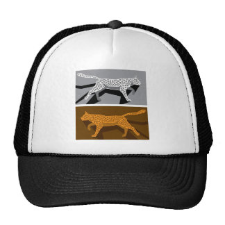 Stylized cat vector trucker hat