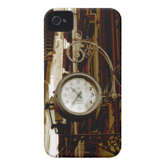 Stylized colour image of vintage clock in Florence Case-Mate iPhone 4 Case