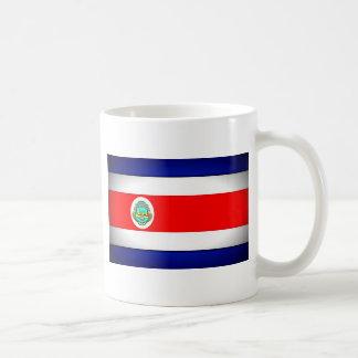 Stylized Costa Rica Flag Coffee Mug