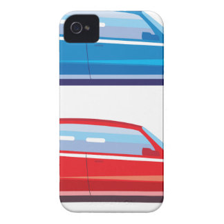 Stylized Crossover SUV vector art iPhone 4 Covers