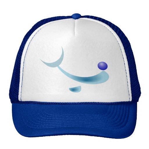 stylized dolphin cap hats