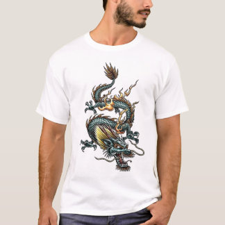 Stylized Dragon 07 T-Shirt