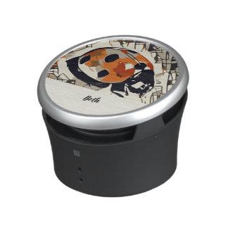 StylizeddrawingofaRedLadybug Bluetooth Speaker