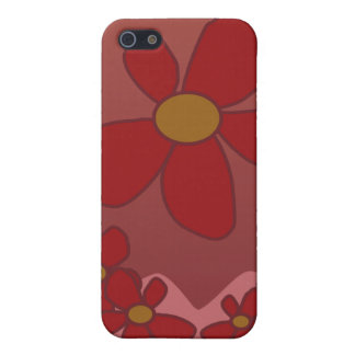 Stylized Floral I-Phone Case