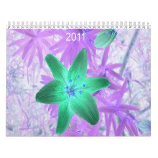 Stylized Florals Wall Calendar